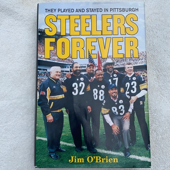 Steelers Forever Book by Jim O'Brien